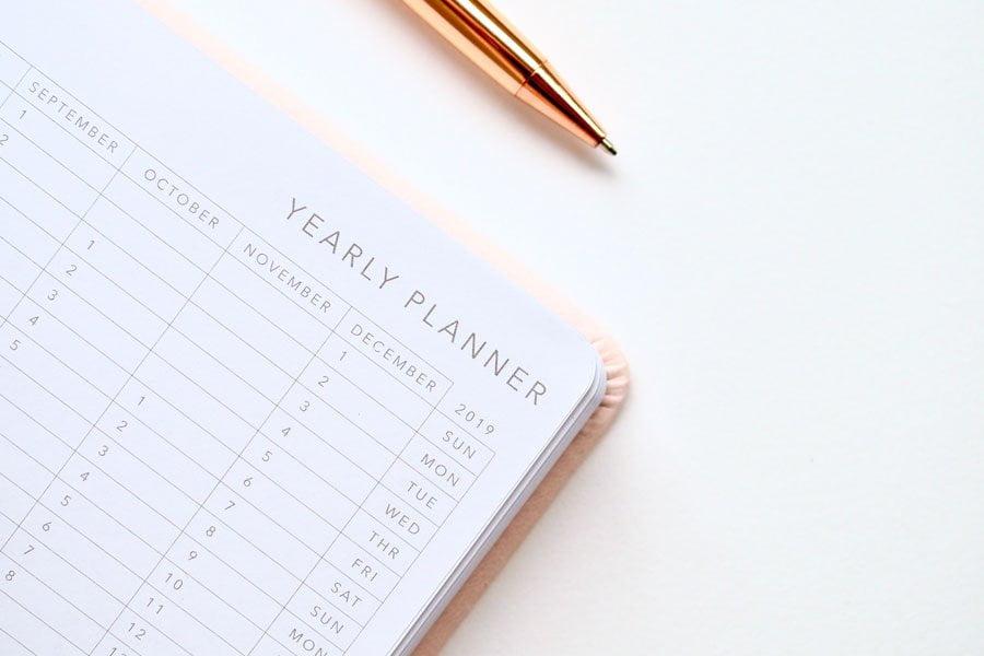 En planeringskalender
